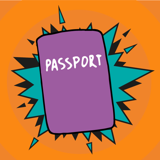 Passport graphic