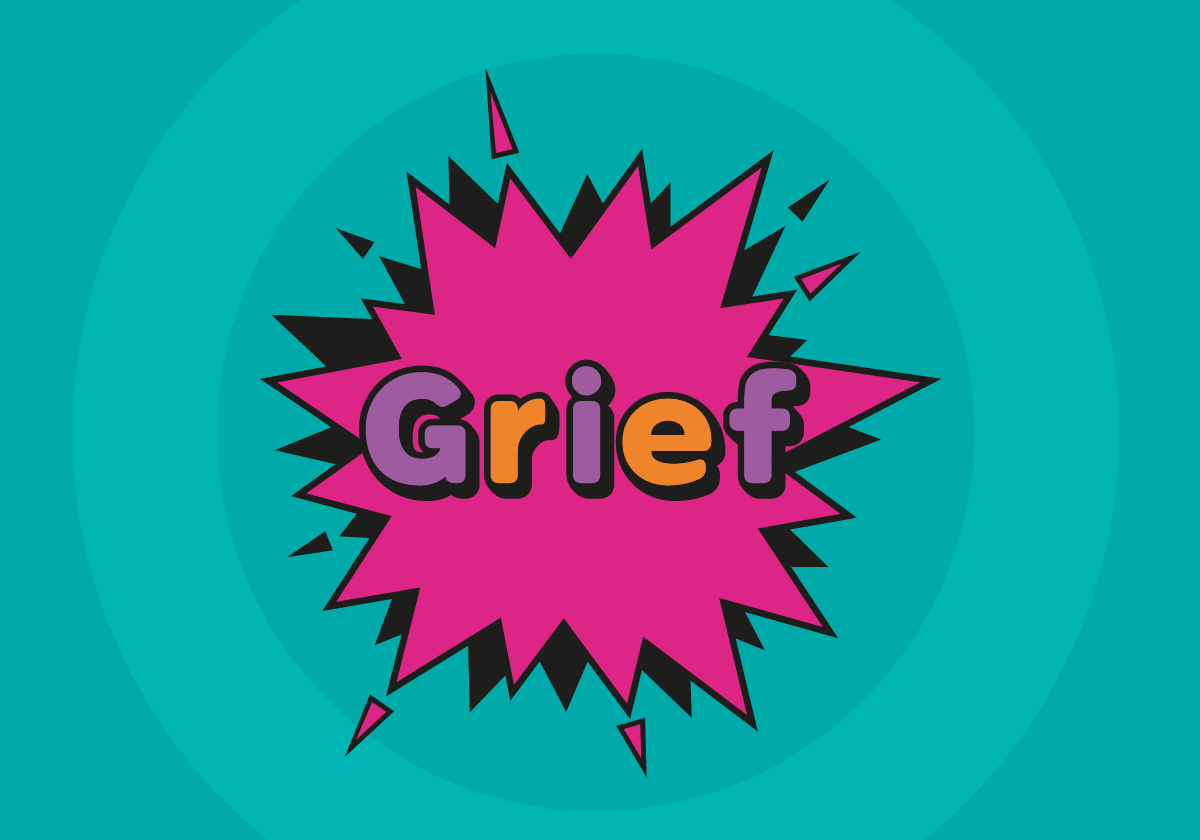 Grief header graphic