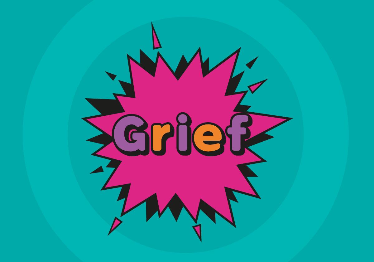 Grief header graphic