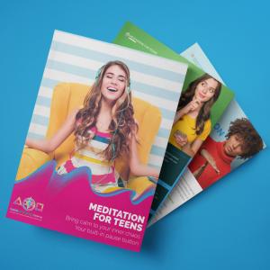 Meditation for teenagers eBook.